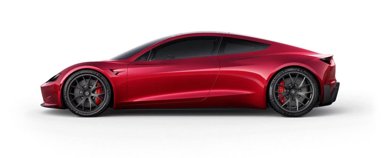 Tesla RoadsterRed Multi-Coat