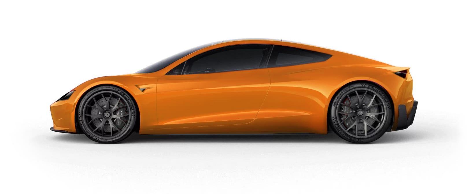 Tesla RoadsterVery Orange Multi-Coat