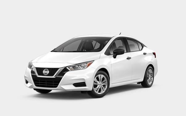 Nissan Versa Aspen White Tricoat