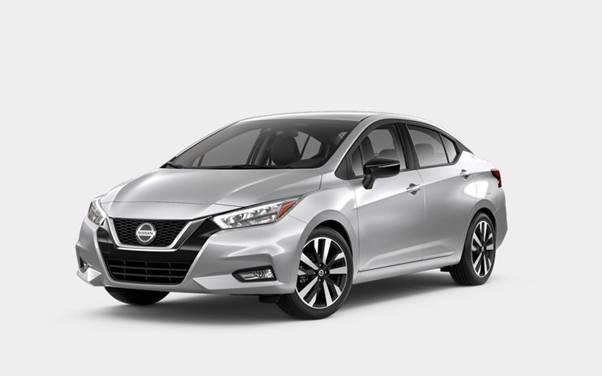 Nissan Versa Brilliant Silver metallic
