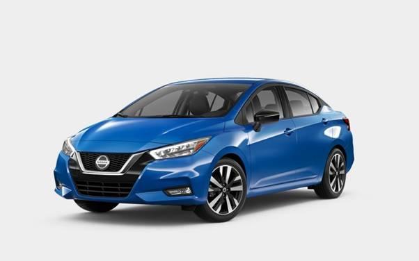Nissan Versa Electric Blue Metallic