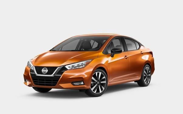 Nissan Versa Monarch Orange Metallic