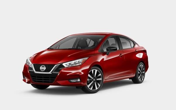 Nissan Versa Scarlet Ember Tintcoat