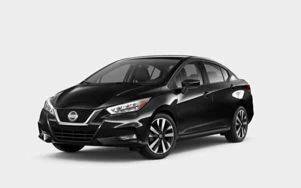 Nissan Versa Super Black
