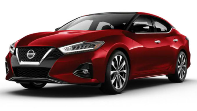 Nissan Maxima Carnelian Red Tintcoat