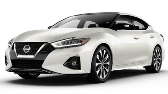 Nissan Maxima Pearl White TriCoat