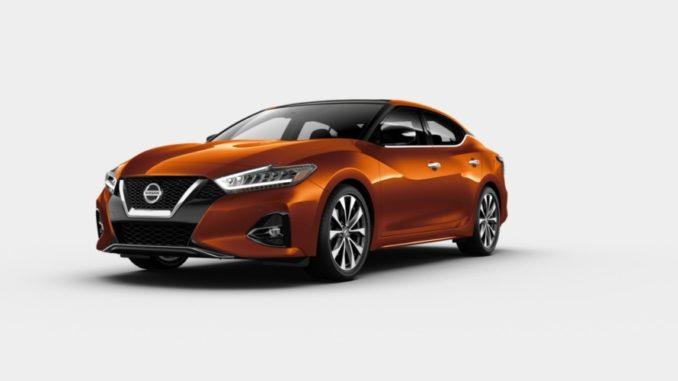 Nissan Maxima Sunset Drift ChromaFlair