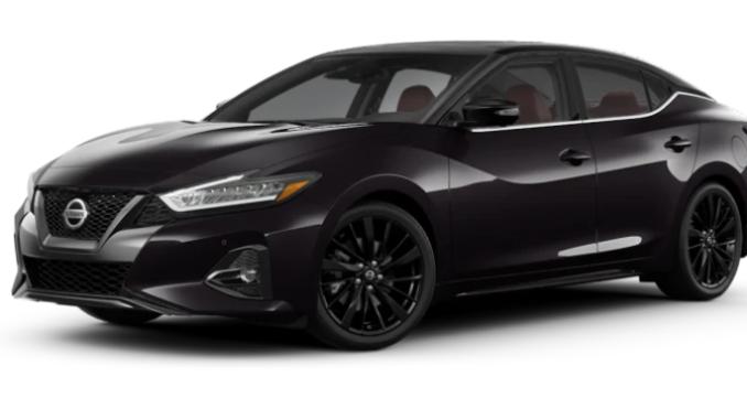 Nissan Maxima Two-Tone Ruby Slate Gray Pearl Super Black