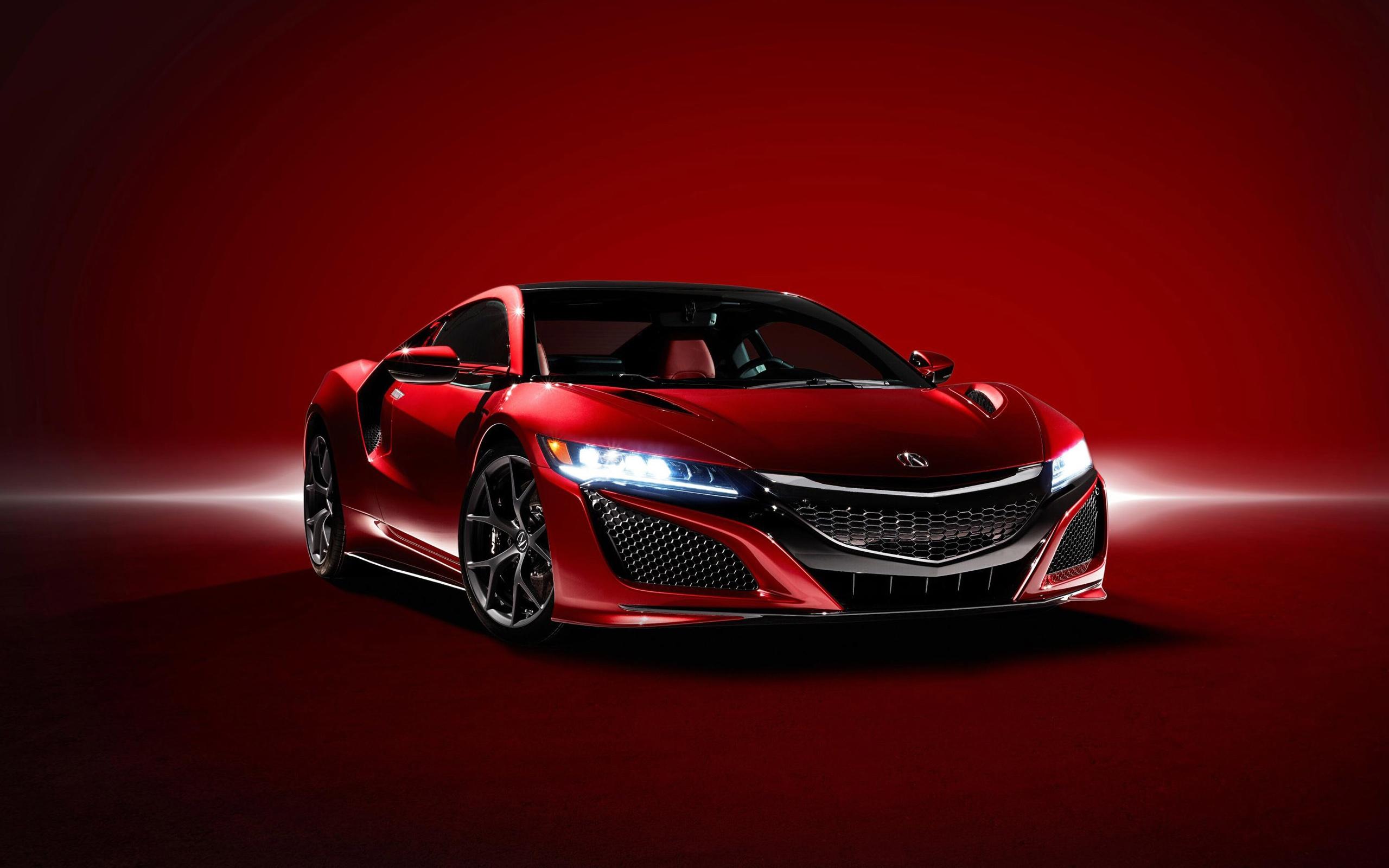 Acura NSX Curva Red
