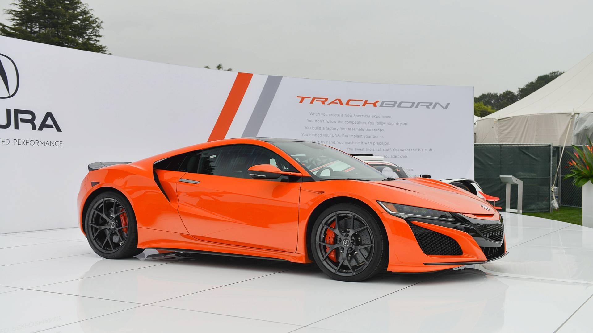 Acura NSX Thermal Orange Pearl