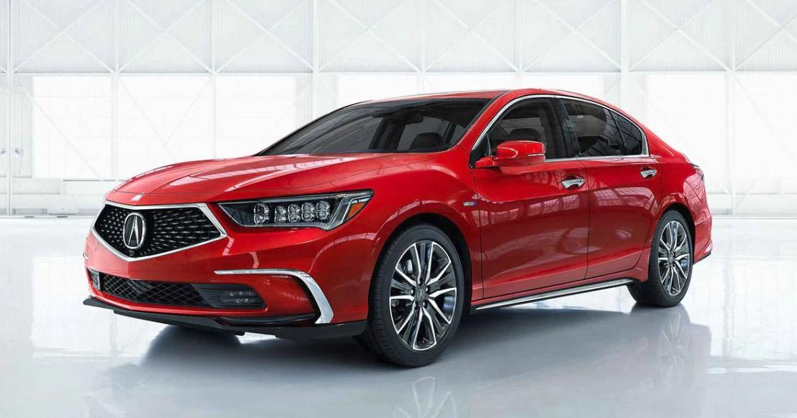 Acura RLX Brilliant Red Metallic