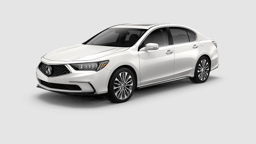 Acura RLX Platinum White Pearl