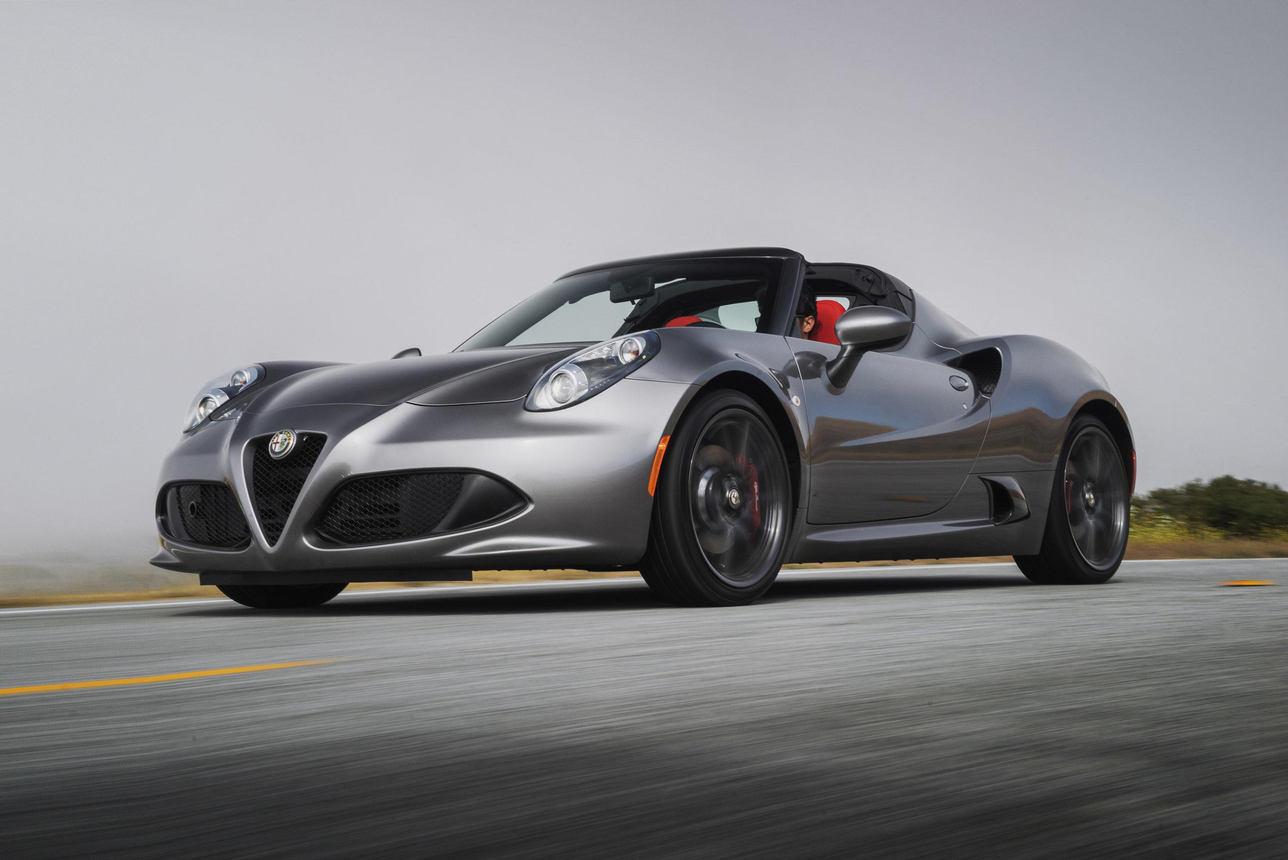 Alfa Romeo 4C Spider Basalt Gray