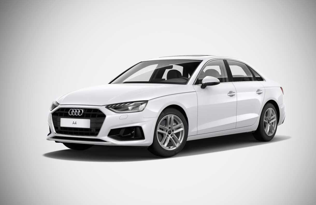 Audi A4 Ibis White