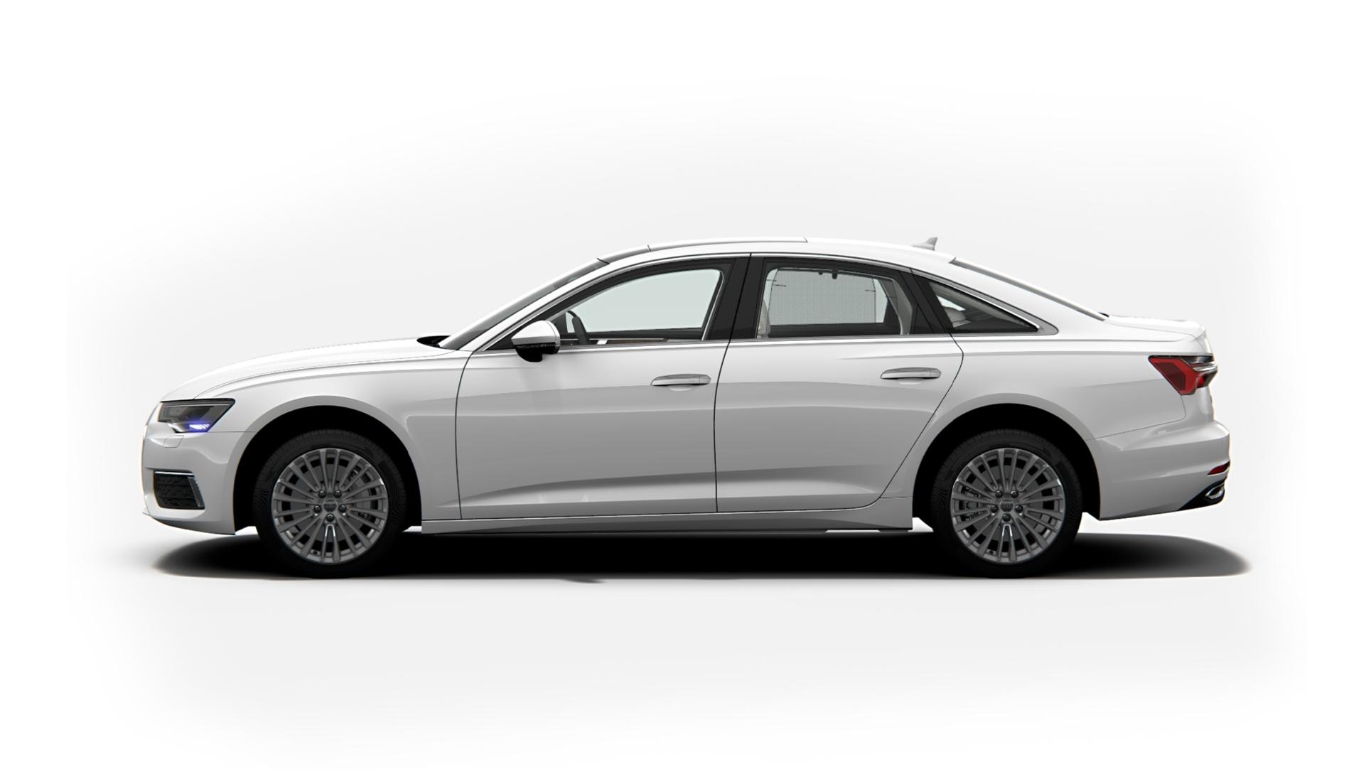 Audi A6 Ibis White