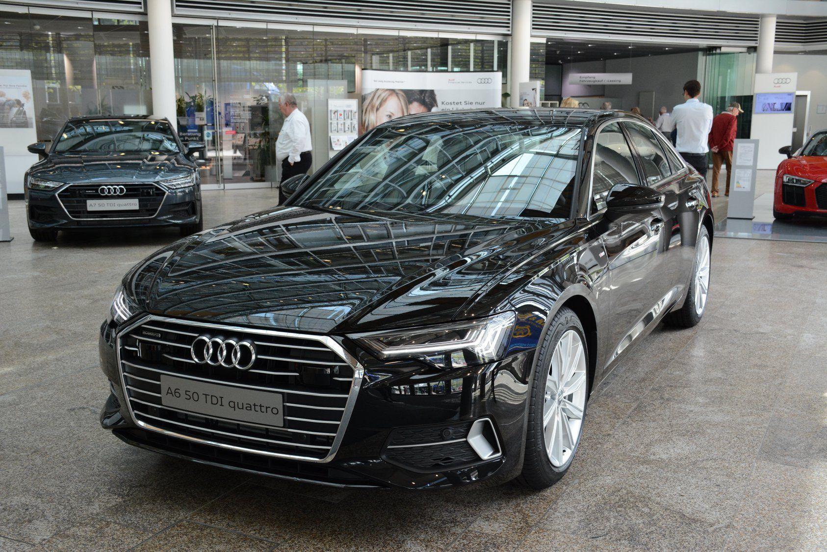 Audi A6 Mythos Black Metallic