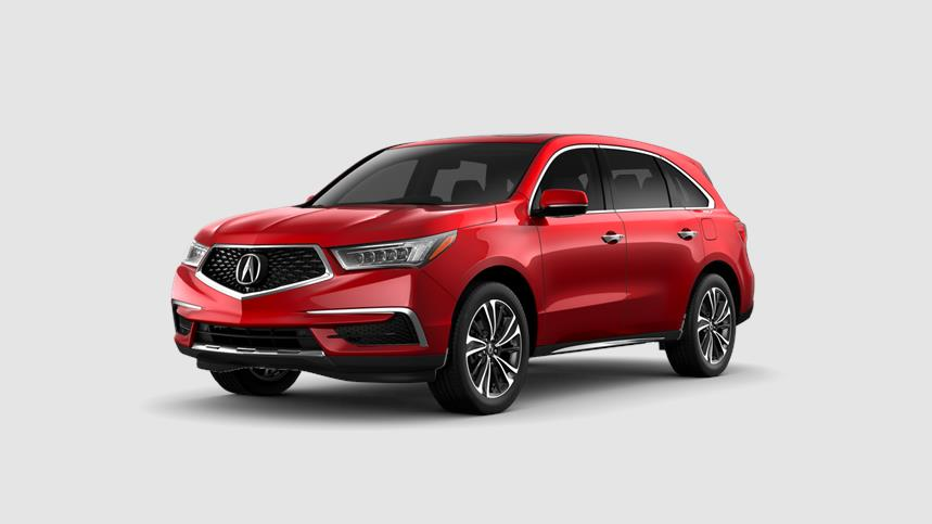 Acura MDX Performance Red Pearl