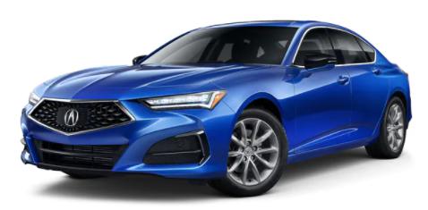 Acura TLX Apex Blue Pearl