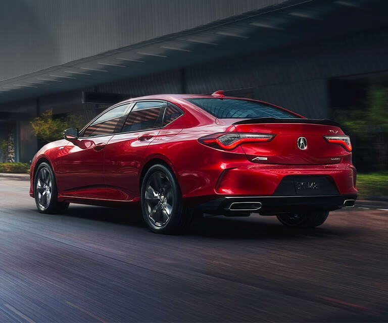 Acura TLX Performance Red Pearl