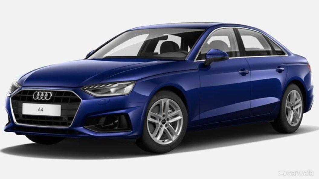 Audi A4 Navarra Blue metallic