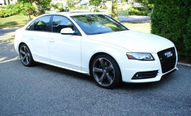Audi S4 Ibis white
