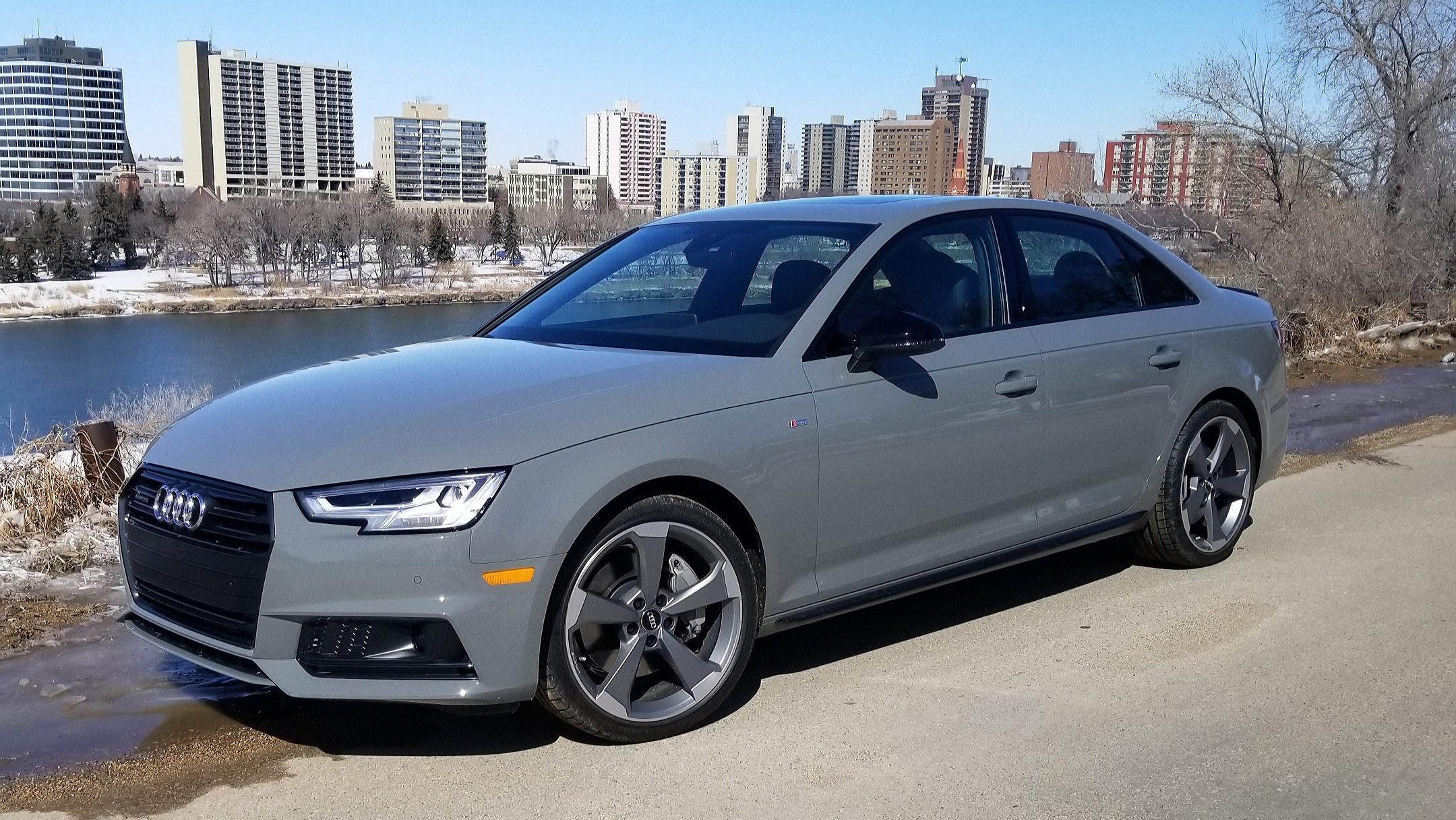 Audi S4 Quantum gray