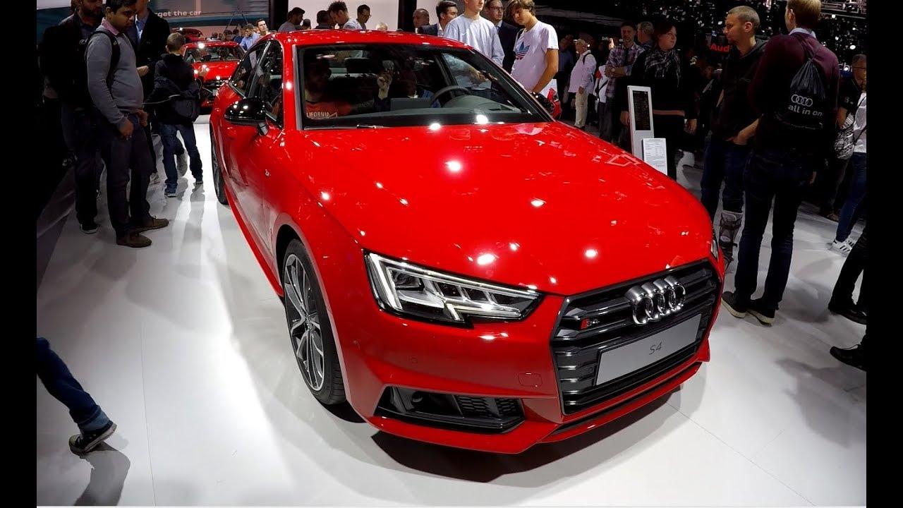 Audi S4 Tango red metallic