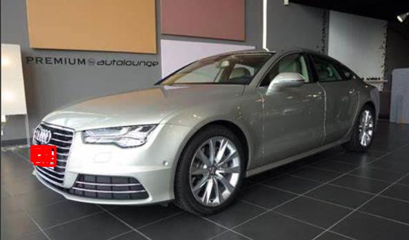 Audi A7 Carat Beige