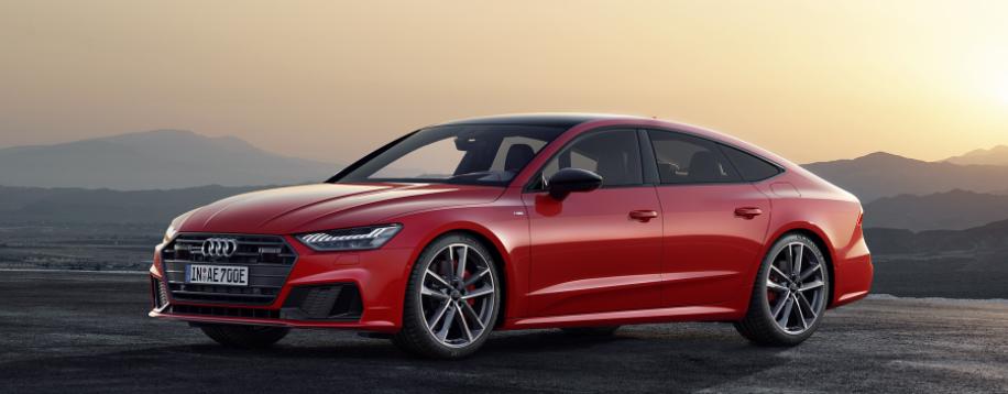 Audi A7 Tango Red