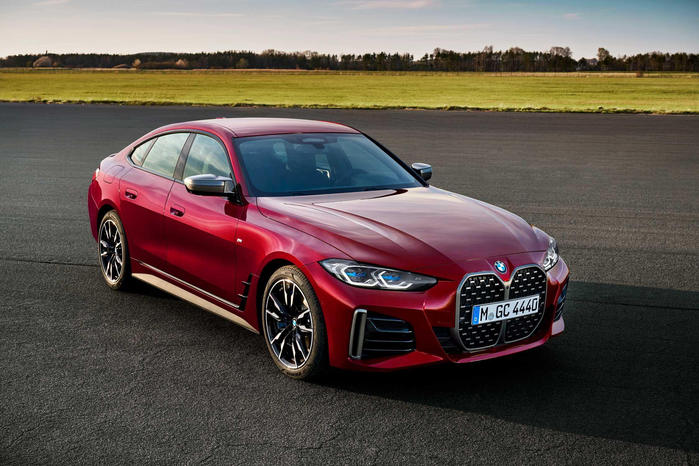BMW i4Aventurine Red