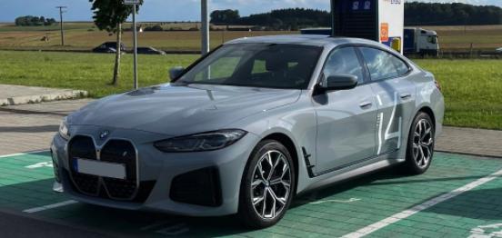 BMW i4Brooklyn Grey