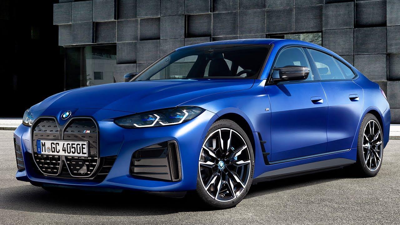 BMW i4Frozen Portimao Blue.