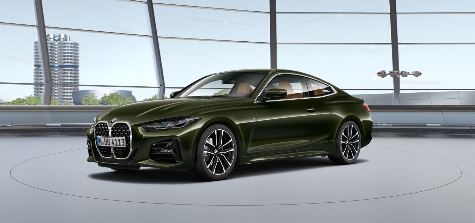 BMW i4San Remo Green