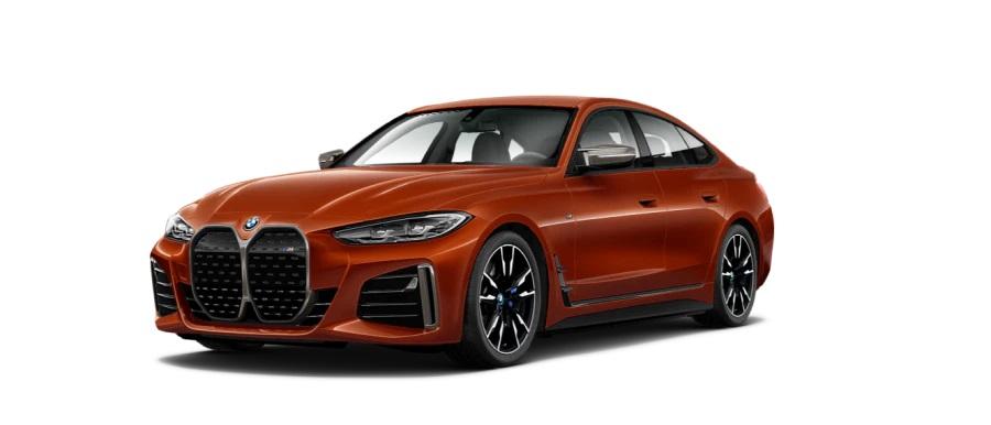 BMW i4Sunset Orange