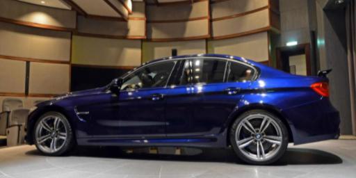 BMW i4Tanzanite Blue