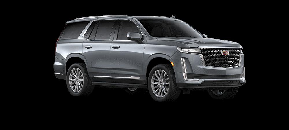 Cadillac escalade Satin Steel Metallic