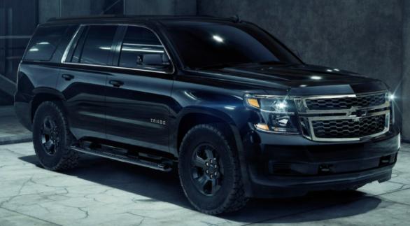Chevrolet Tahoe and Suburban Black