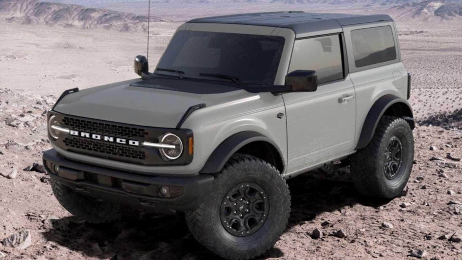 Ford Bronco Cactus Gray