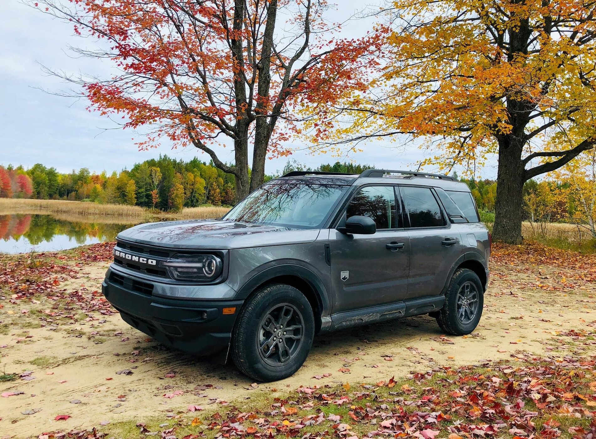Ford Bronco Carbonized Gray