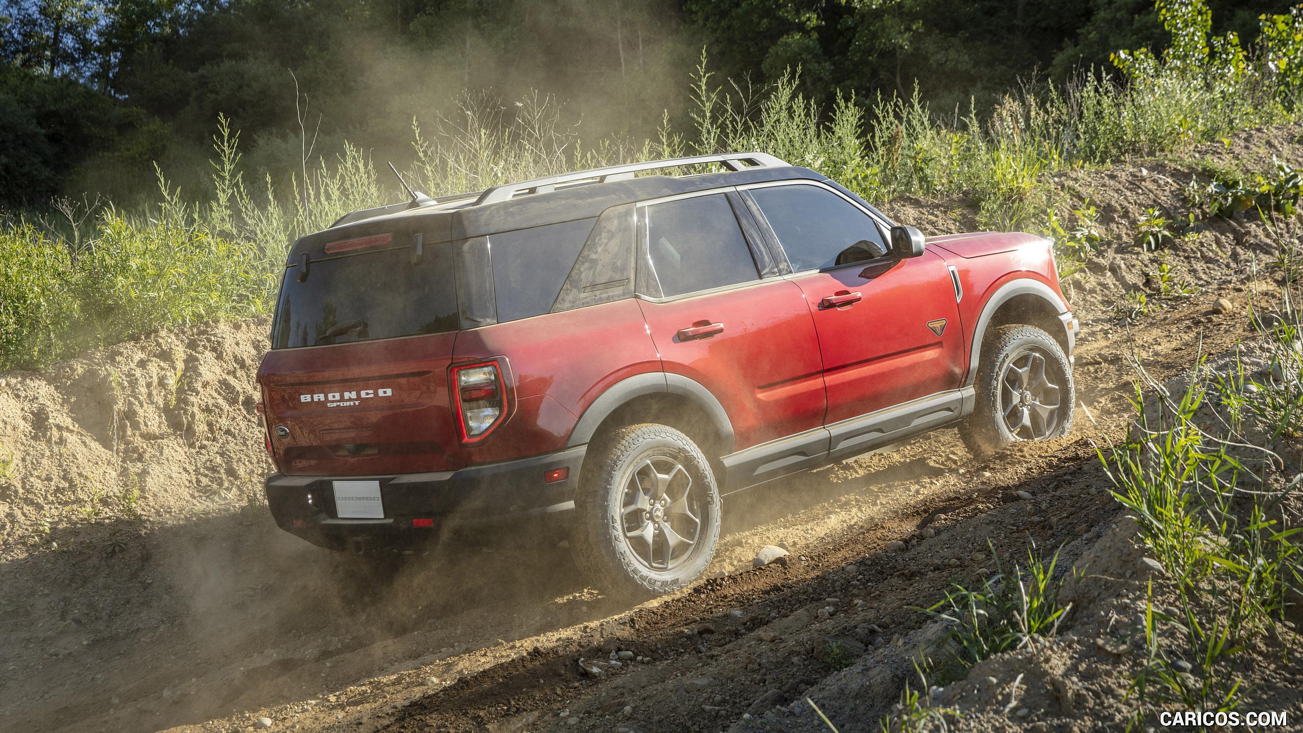 Ford Bronco Rapid Red Metallic
