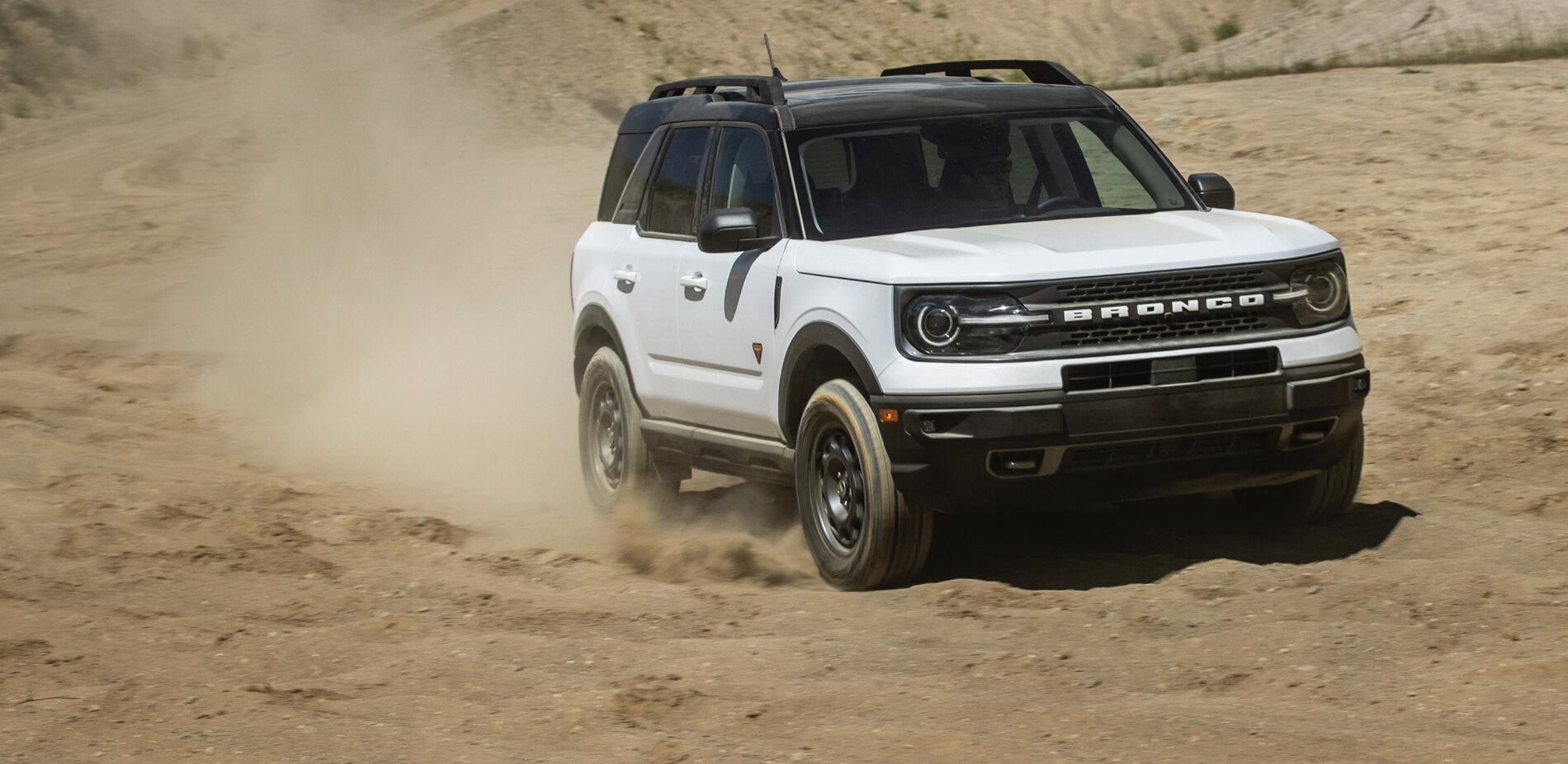 Oxford White Ford Bronco Sport